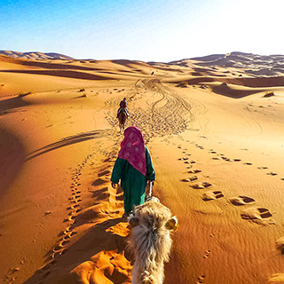 4 days Luxury Tour From Marrakech To Merzouga