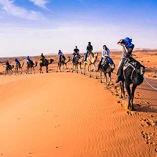 Marrakech to Fes via Merzouga desert in 3 days